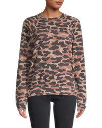 Monrow Camo-print Sweatshirt - Multicolour