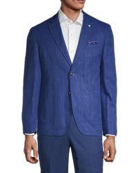 Ben Sherman Clere Stretch-fit Sport Jacket - Blue