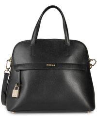 Furla Women's Piper Leather Crossbody Bag - Nero - Black