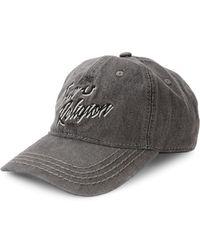 True Religion - Denim Baseball Cap - Lyst