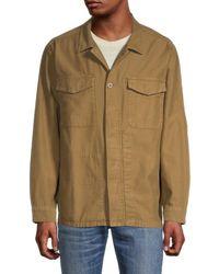 Madewell Regular-fit Shirt Jacket - Multicolour