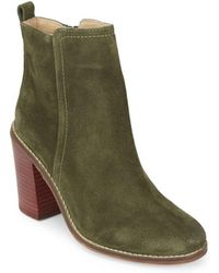 Seychelles - Lounge Round-toe Leather Booties - Lyst