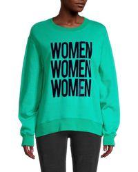 Sandro Women Mantra Sweatshirt - Green