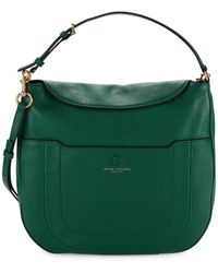 Marc Jacobs Empire City Leather Hobo Bag - Blue