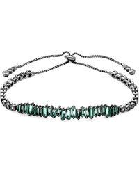 Saks Fifth Avenue - Crystal Adjustable Bracelet - Lyst