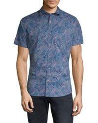 Slate & Stone - Classic Printed Shirt - Lyst