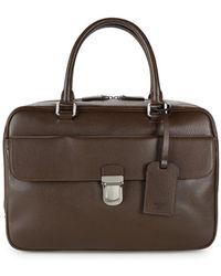 d95efdb66f Giorgio Armani - Leather Satchel - Lyst
