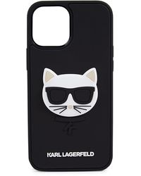 Karl Lagerfeld 3d Rubber Iphone 12 Pro Max - Black