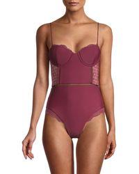 Jonathan Simkhai One-piece Swimsuit - Purple