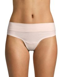 Ava & Aiden - Wide Band Thongs - Lyst