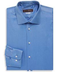Hickey Freeman - Classic Fit Twill Dress Shirt - Lyst