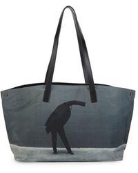 Akris Women's Ai Graphic Tote - Black