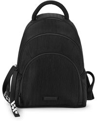 Kendall + Kylie Sloane Textured Dome Backpack - Black