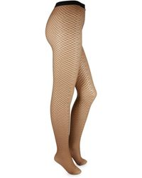 Wolford Women's Diamond Snake Tights - Black - Size S
