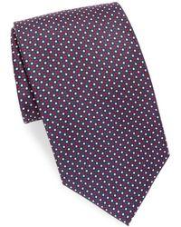 Brioni - Mini Dots Silk Tie - Lyst