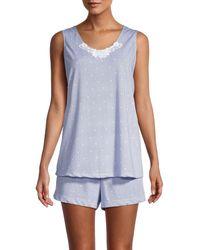 Carole Hochman 2-piece Pyjama Set - Blue