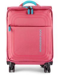 Mandarina Duck Bilbao Cabin 12-inch Spinner Suitcase - Ruby - Red