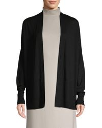 Vince Oversized Open-front Cardigan - Grey