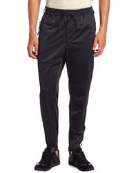 Y-3 Tri-stripe Stirrup Track Pants - Black