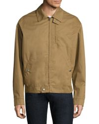 Stella McCartney - Cotton Sports Jacket With Tropical Birds - Lyst