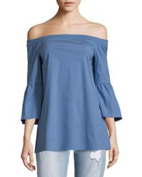 Lafayette 148 New York - Rosario Off-the-shoulder Top - Lyst