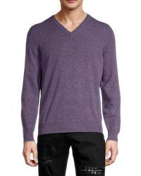 Brunello Cucinelli Cashmere Sweater - Purple