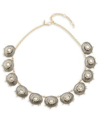 Alexis Bittar - 10k Goldplated, Lucite & Crystal Necklace - Lyst