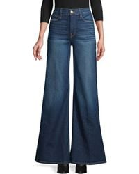 FRAME Wide-leg Jeans - Blue