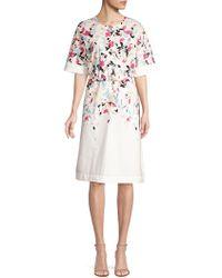 Donna Karan - Shift Dress - Lyst