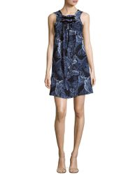 Marc By Marc Jacobs - Printed Sleeveless Dress - Lyst