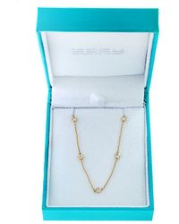 Effy - 14k Yellow Gold And Diamonds Necklace - Lyst