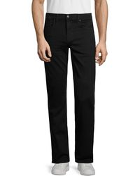 Joe's Jeans The Classic Straight-leg Jeans - Black