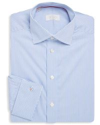 Eton of Sweden - Pinstriped Contemporary-fit Cotton Dress Shirt - Lyst