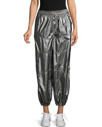 Free People Mirror Ball Track Trousers - Black