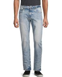Buffalo David Bitton Ash-x Slim-fit Straight Jeans - Blue