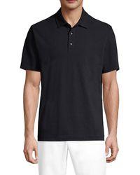 Robert Graham Men's Joyride Polo T-shirt - Black - Size M