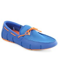 Swims - Braided Lace-up Loafers - Lyst