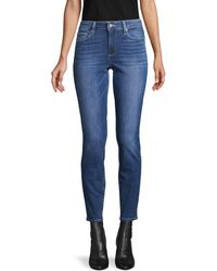 PAIGE Verdugo Ultra Skinny Ankle Jeans - Blue