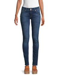 Hudson Jeans Women's Collin Mid-rise Skinny Jeans - Howling - Size 27 (4) - Blue