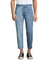 Barney Cools - Frayed-cuff Relaxed-fit Jeans - Lyst