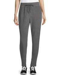James Perse - Heathered Jogger Trousers - Lyst