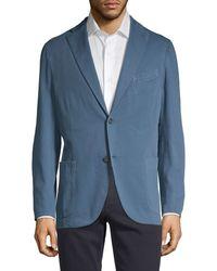 Boglioli Stretch-cotton Sportcoat - Blue