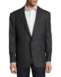 Ralph Lauren - Window-pane Textured Cashmere Jacket - Lyst