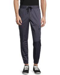 Dolce & Gabbana Regular-fit Drawstring Trousers - Grey