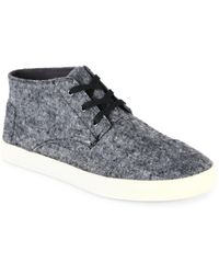 TOMS - Mateo Wool Chukka Boots - Lyst