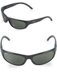 Ray-Ban Rectangle Sunglasses - Black