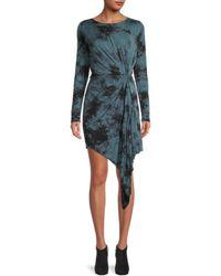 Young Fabulous & Broke Women's Mini Bodycon Dress - Electric Blue - Size S