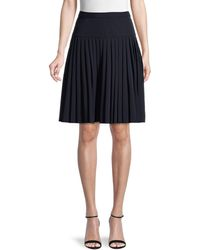 Tommy Hilfiger Accordion-pleated Skirt - Blue