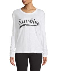 Zadig & Voltaire - Willy Sunshine Long-sleeve Tee - Lyst