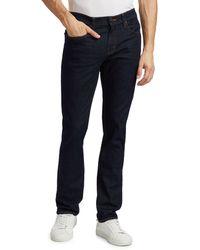 J Brand Kane Slim-straight Jeans - Blue